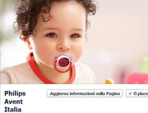 Facebook Philips Avent e la community delle mamme