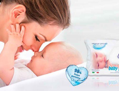 """Assegnato il Bollino """"Consigliato dalle mamme – FattoreMamma"""" alle salviettine  Baby Pediatric Fresh&Clean"""