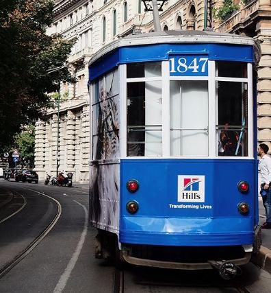 il Pet Tram durante la Milano Pet Week