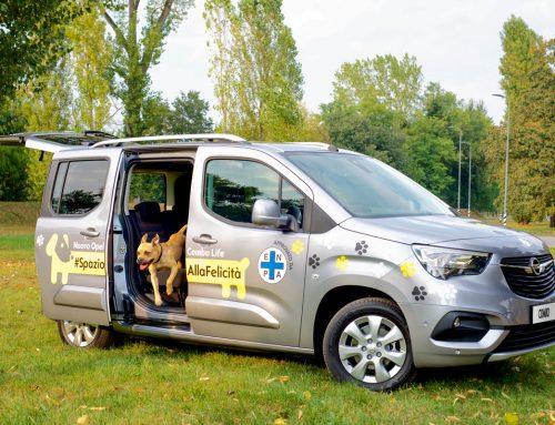 Opel – lancio della nuova auto Opel Combo Life Pet Lovers Edition