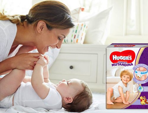 """Assegnato il bollino """"Consigliato dalle mamme – FattoreMamma"""" ai pannolini Huggies Mutandina"""